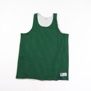 Vintage Russell Athletic Reversible Jersey Green